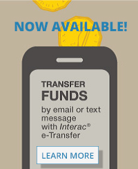 Interac E-Transfers now available